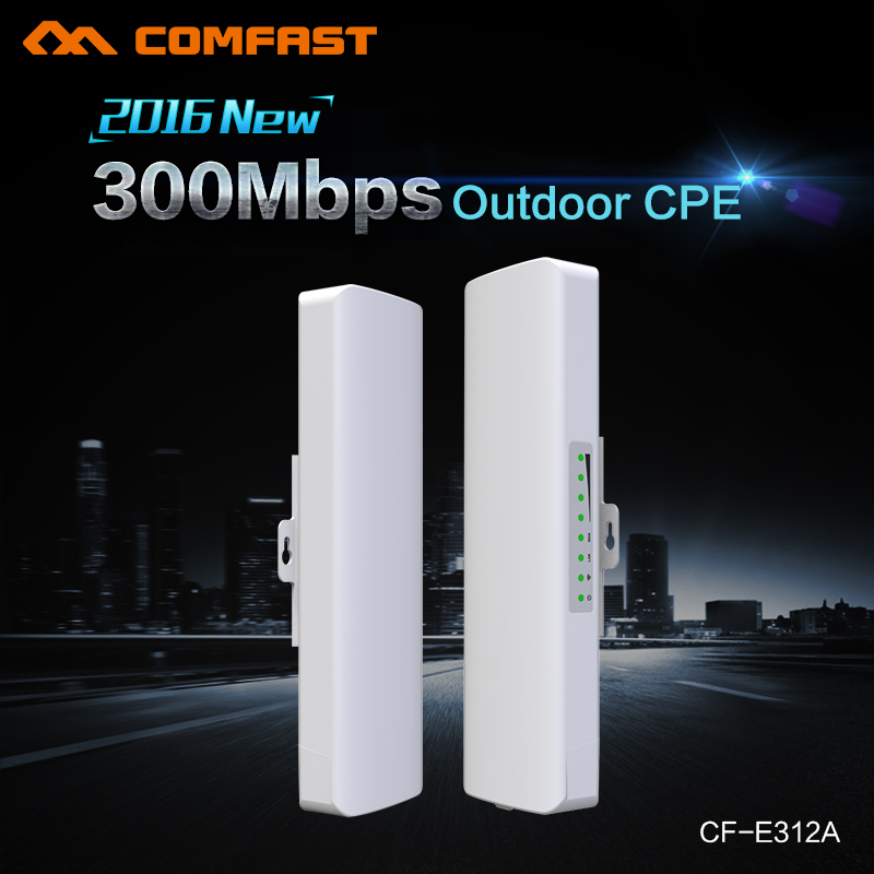 Comfast Wireless Outdoor CPE WIFI Router 5G 300Mbps Long Range 14dBi WI FI Access Point signal booster Amplifier Nanostation POE(China (Mainland))