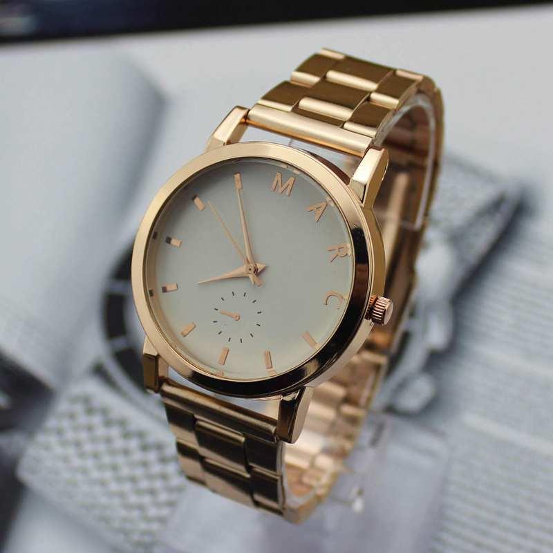 Купить Часы   (M-A-R-C) Masculino Luxury Curren Brand Full Stainless Steel Analog Display Date Woman Quartz Watch Casual Watch Men Wristwatch None