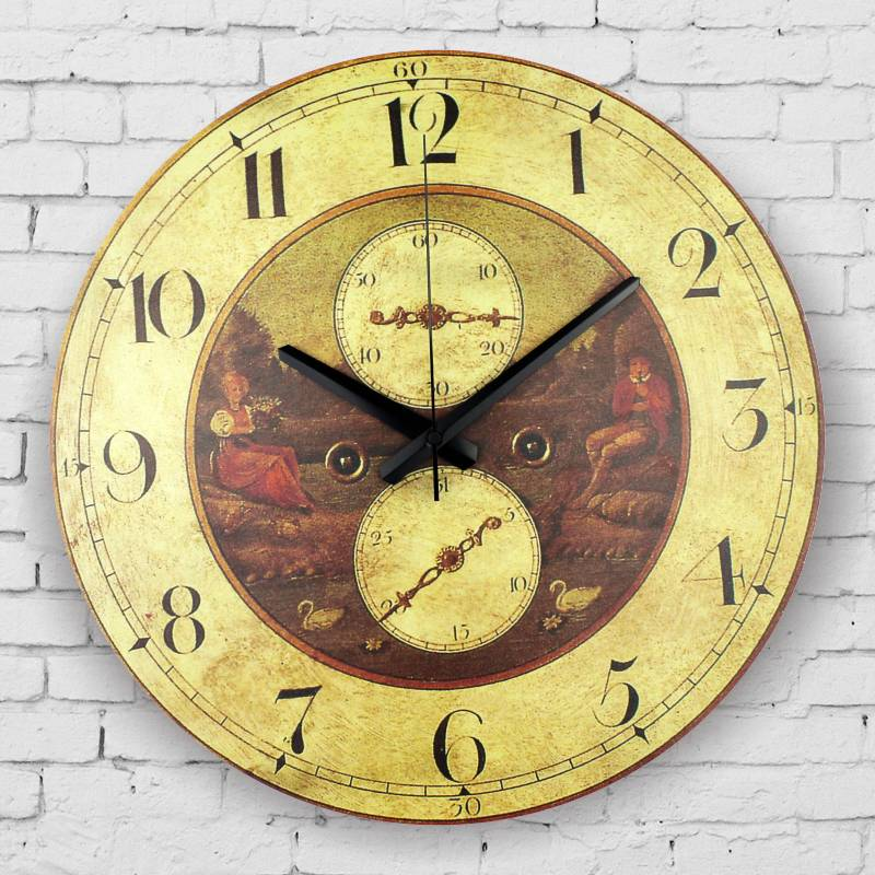 large decorative wall clock absolutely silent living room decoration wall clock southeast asia. Black Bedroom Furniture Sets. Home Design Ideas