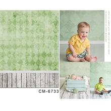 photography baby backdrops Background fresh green plaid photography vinyl photography backdrops photo studio 5x7ft(150x220cm)