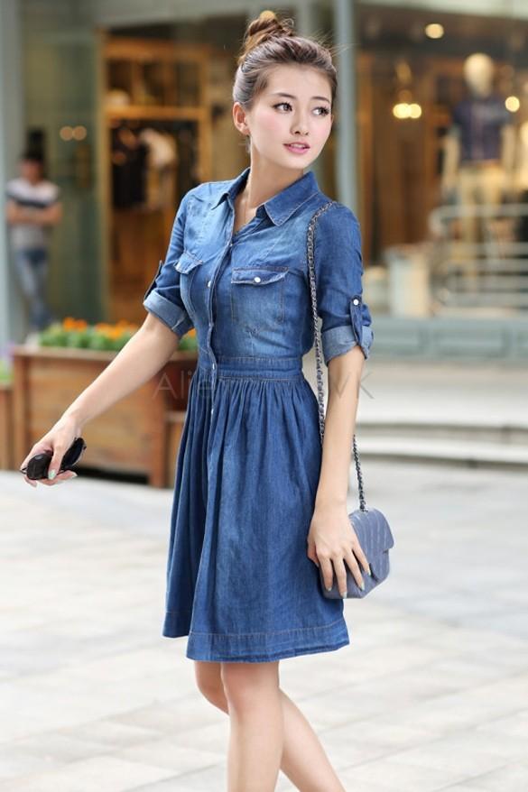 Denim dress for sale