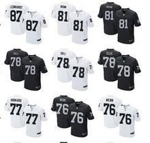 A++++++,Oakland Raiders,Jim Otto,Kenny Stabler,Jim Plunkett,Jack Tatum,Marcus Allen,Bo Jackson,Ronnie Lott,Howie Long,T.Brown(China (Mainland))