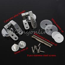 1 Set Replacement Toilet Seat Hinge Toilet Mountings with Screws Free Shipping(China (Mainland))