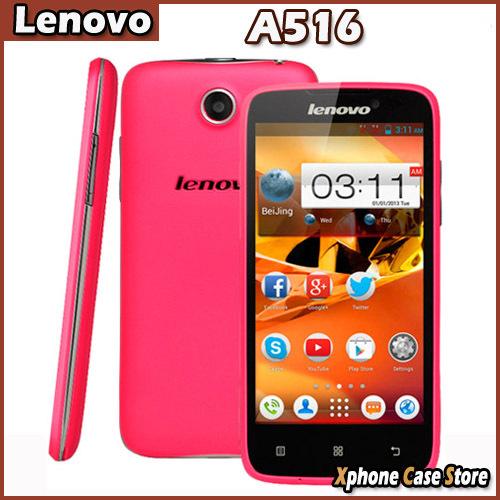 3G Original Lenovo A516 4 5 Android 4 2 MTK6572 Dual Core 1 2GHz SmartPhone RAM