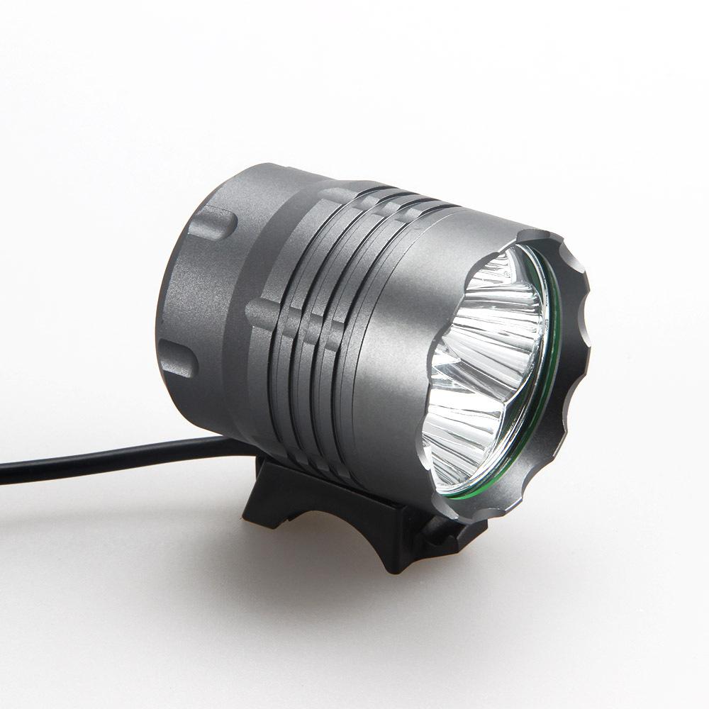 12000mAh Battery 7000Lumen 4x CREE XM-L U2 LED Head Front Bicycle Lamp Bike Light HeadLight Headlamp flashlight 8.4v battery  -  Tim flashlight store