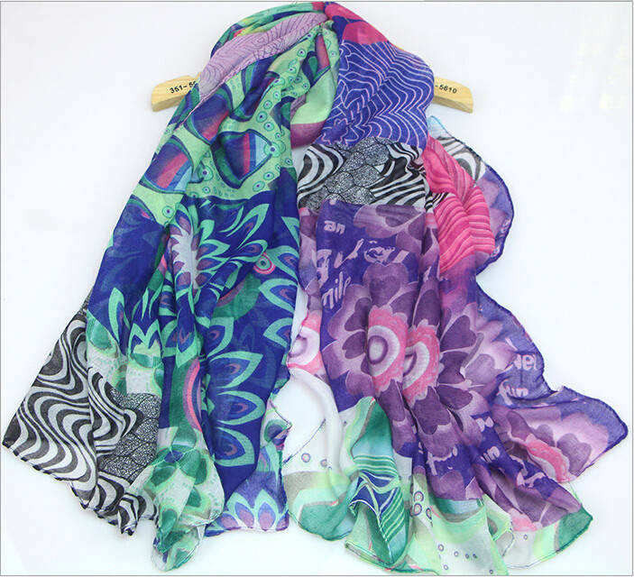 2015 New! High Quality ! designer Spring New Style Classic Big floral print wool silk cotton Cashmere Scarf Women Shawl man(China (Mainland))