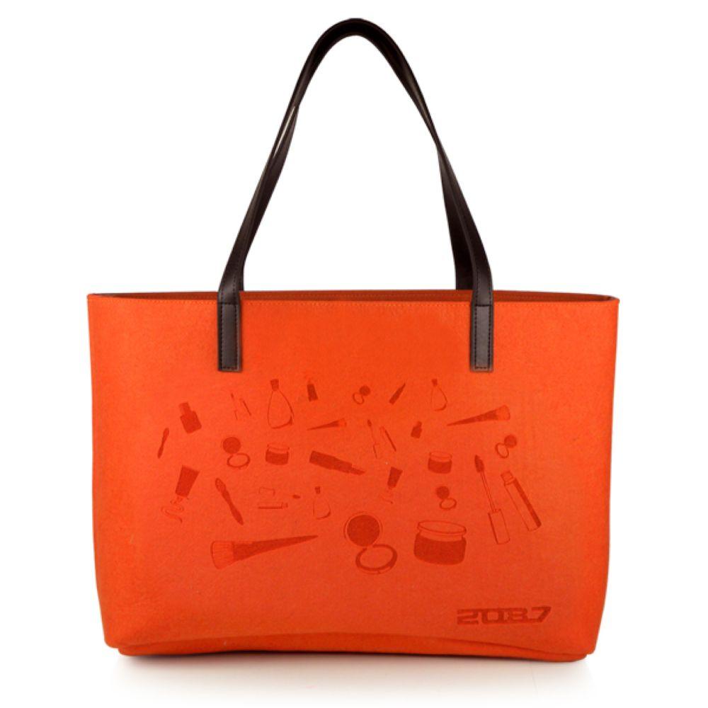 2087 Design Felt Women Handbag and Fashion Popular Felt Totes Bag(China (Mainland))