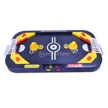 2in 1 Desktop Puck Battle Kids Play Air Hockey Table Game Interactive Toy Gift(China (Mainland))