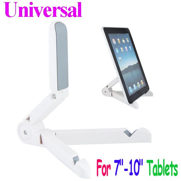 """Hot Sale Universal Portable Foldable Stand Holder for 7"""" 7.9"""" 8"""" 9.7"""" 10"""" Tablet pc MID PDA ipad White Free Shipping free shippi(China (Mainland))"""