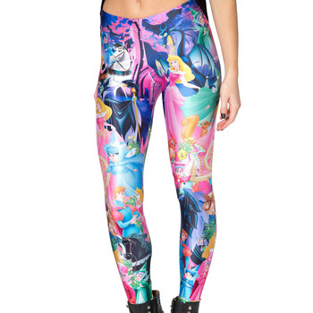 2015 Fashion Women Space print Pants Galaxy Leggings Black Milk Leggings Newspaper Snow White Leggings Free Size FREE SHIPPING