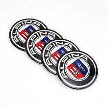 Buy Car Styling Car Emblem Badge Sticker Wheel Hub Caps Centre Cover Stickers ALPINA Logo MW X3 X5 F10 F30 F31 E39 E46 E90 E91 for $3.76 in AliExpress store