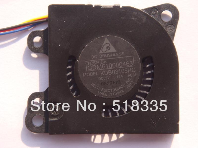 Free Shipping Delta KDB03105HC 3CM 3*3*0.5CM 30*30*5MM 3005 small blower 5V 0.45A cooling fan(China (Mainland))