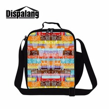 Buy Dispalang Newest Thermal Picnic Children Food Bag XMAS Pattern Stylish Thermo Lunch Bag Cooler Insulated Lunch Box Handle for $16.99 in AliExpress store