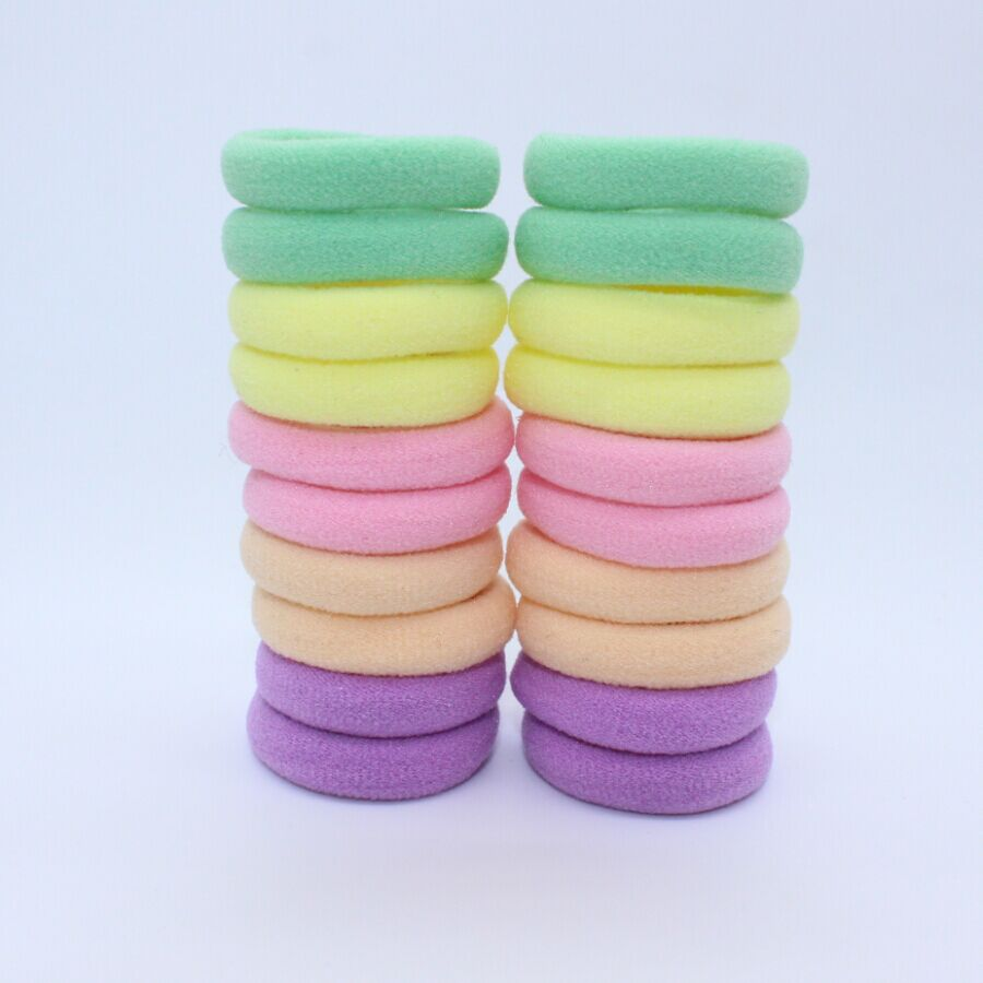Elastic hair bands for girls hair accessories for kids brand 20PCS/LOT rubber bands 2015 new(China (Mainland))