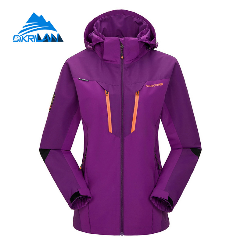 Cikrilan New Arrive Outdoor Sport Camping Chaquetas Mujer Mesh Lined Hiking Sportswear Windbreaker Jacket Women Anti-wear Coat<br><br>Aliexpress