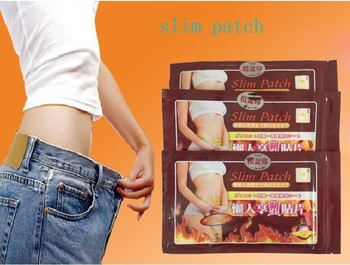 Slimming stick Slimming Navel Sticker Slim Patch Weight Loss Burning Fat Patch 10 pcs ( 1 bag = 10 pcs )