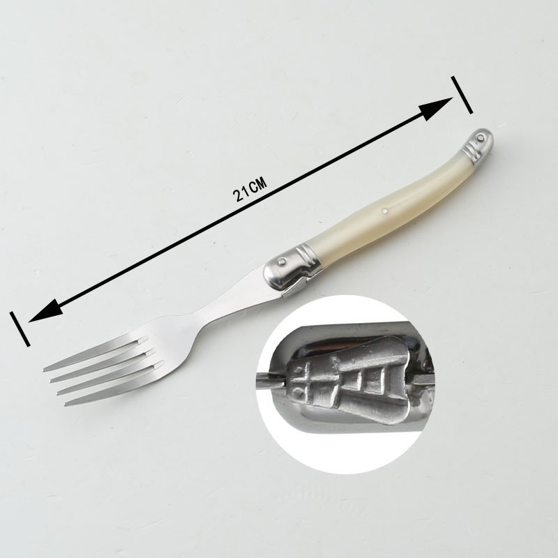 Buy Stainless Steel Dinnerware 24PCS Laguiole Knives  Fork Spoon Fork Laguiole Dinner Sets cheap
