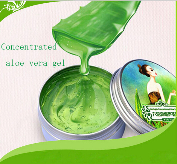 2015 AFY Natural Sixfold Concentrated aloe vera gel Cream perfect remove acne Whitening Oil Control moisturizing face skin care(China (Mainland))