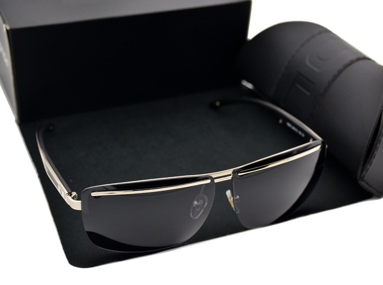 2016 hot sale Men glasses High Quality Polarized Brand Driving Sunglasses sun glasses UV 400 Fashion Eye Wear with original case(China (Mainland))