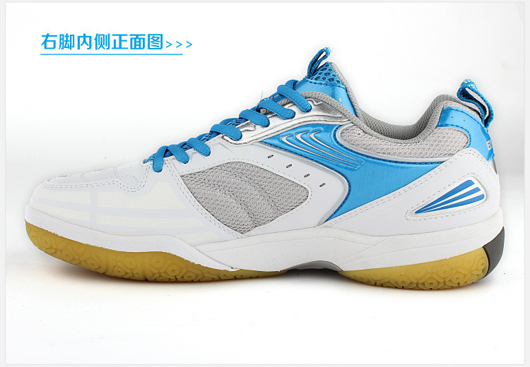 New arrival top quality badminton shoes breathable wear sneakers for men and women table tennis shoes brand sport tennis shoes(China (Mainland))