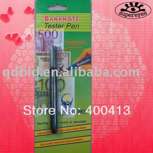Free shipping Money Tester Pen to American and Western Europe(China (Mainland))
