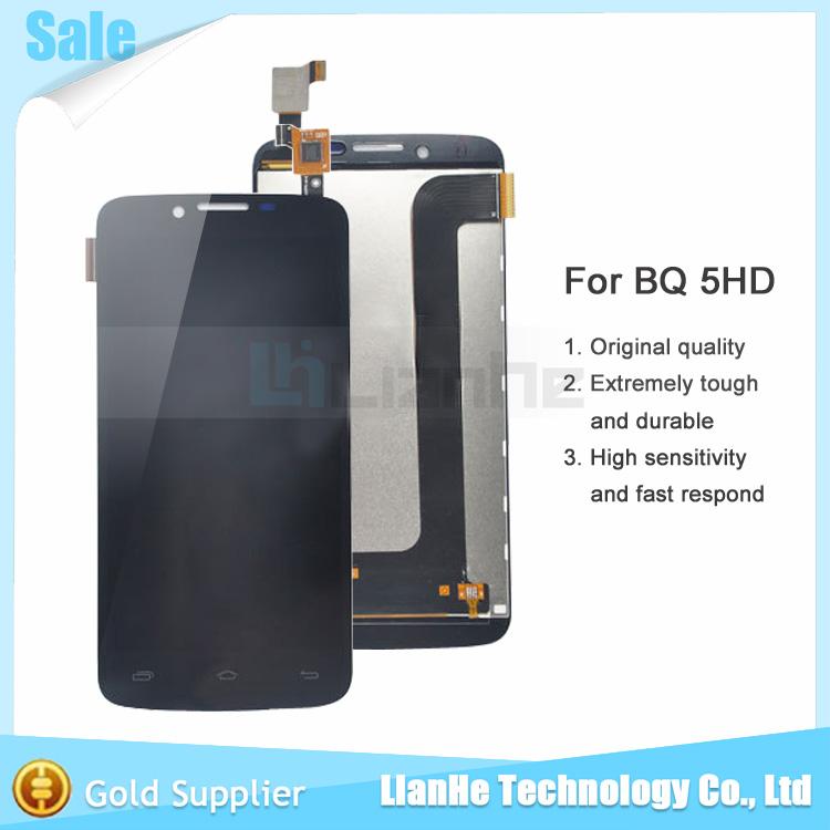 Wholesale Price for BQ Aquaris 5HD Pantalla Complta Tactil +Lcd Negra for BQ Aquaris 5 HD Lcd Display