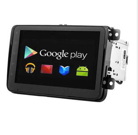 Two Din 7 Inch android 4.4 Car DVD Player For VW/Volkswagen/POLO/PASSAT/Golf/Skoda/Seat With WifiHost Radio GPS Bt 1080P Ipod()