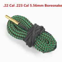 Buy Hunting Bore Snake Rifle Cleaning.22 Cal 223 5.56mm Calibre Boresnake Rope Rifle Barrel Kit Caza Articulos De Caza Caccia for $2.51 in AliExpress store