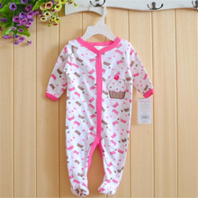 New 2015 Similar Carters Newborn Clothes Baby Girls Rompers Long sleeve BABY Clothing 1pcs lot Infantil