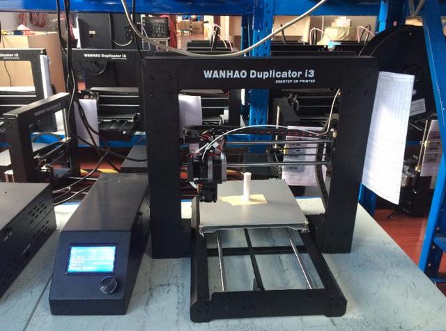 Wanhao I3 V2.1 (Новинка) 3d-принтер - лучший принтер в низкой ценовой категории. Простая сборка и надежные комплектующие. Хит продаж!