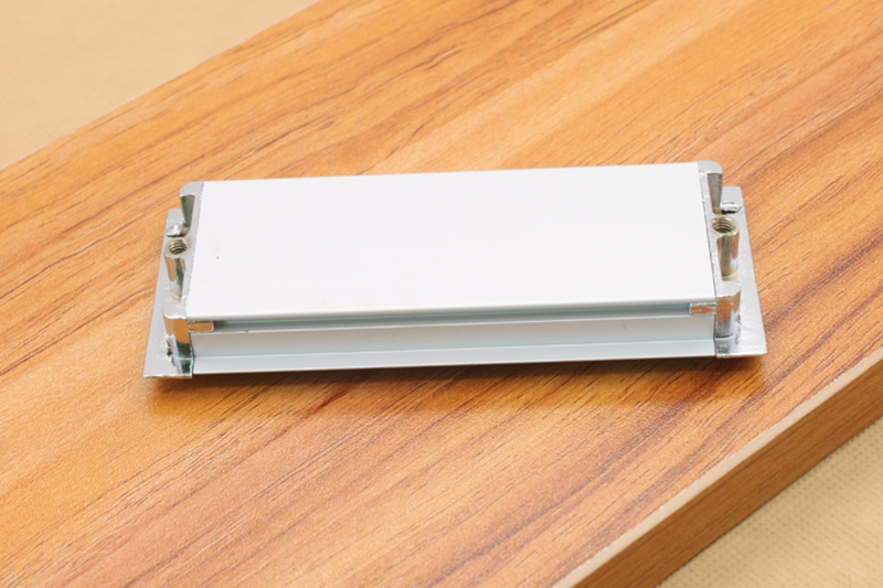 Simplicity Modern Long Aluminum Alloy Concealed Handle Hidden Drawer Cabinet Door Handles Tatami Used Invisible Handle-knobs