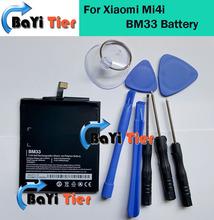 Для Xiaomi Mi4i Батареи BM33 100% Новое Высокое Качество 3030 мАч Back-up аккумулятор для Xiaomi Mi4i Ми 4i Смартфон на складе + Инструменты