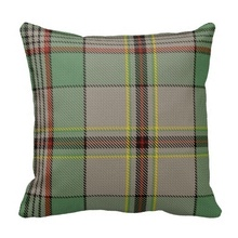 Beds Pillow Cases Craig Tartan Pillow Case (Size: 45x45cm) Free Shipping