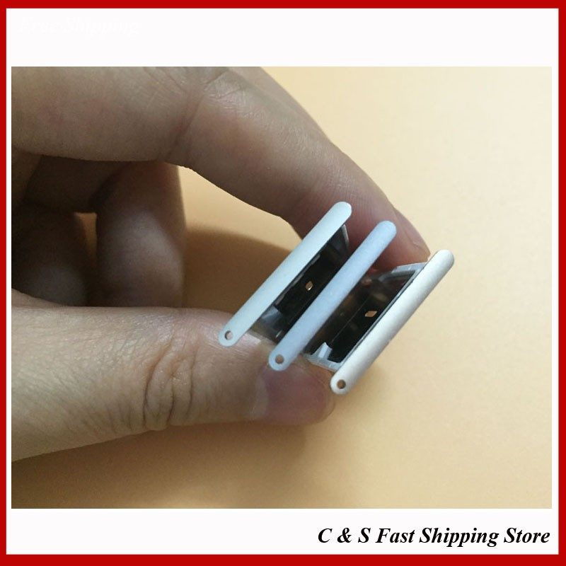 100% New Original Sim Card Holder Tray Slot For Xiaomi Redmi Note 3 Hongmi Note 3 Mobile Phone Repair Parts