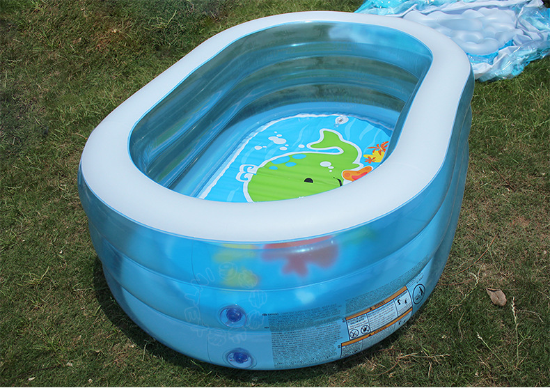 0-3T New Inflatable Square Kids Swimming Pool Infant Tube Baby Ball Sand Water Play Pool Boys Girls Piscina pool Ecofriendly<br><br>Aliexpress
