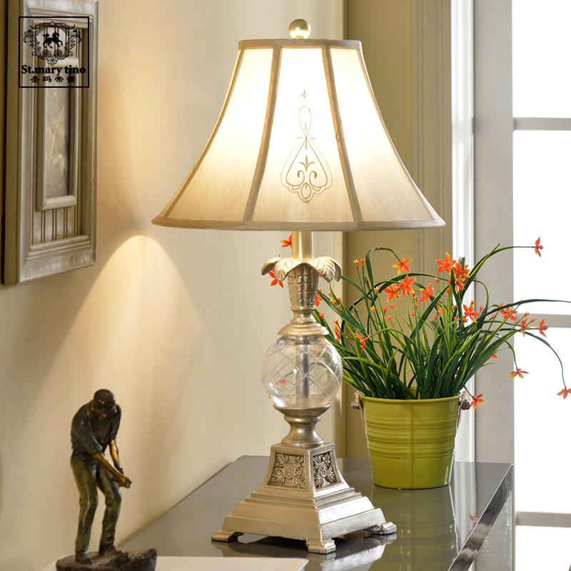 LED Desk Lamp Indoor Lighting European High-grade Crystal Lamp Creative Wedding Decoration Table Lamps(China (Mainland))