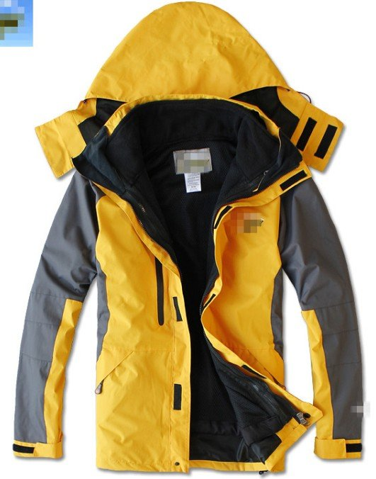 outdoor Jacket mens two piece set jacket . 2 1 waterproof ,windproof .5Color  -  Online Store 214194 store