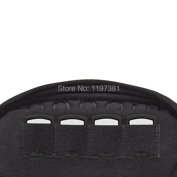 1 pcs New black Large Capacity Soft Travel Protective Case Pouch Bag for Playstation PS VITA