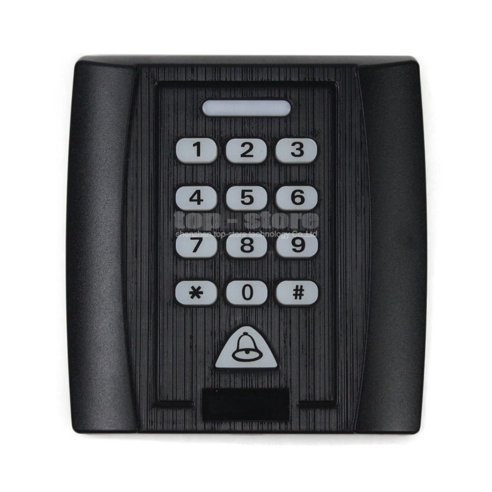 2015 New 125KHz RFID Reader Password Keypad Access Controller Security System Kit For House / Office / Home Improvement(China (Mainland))