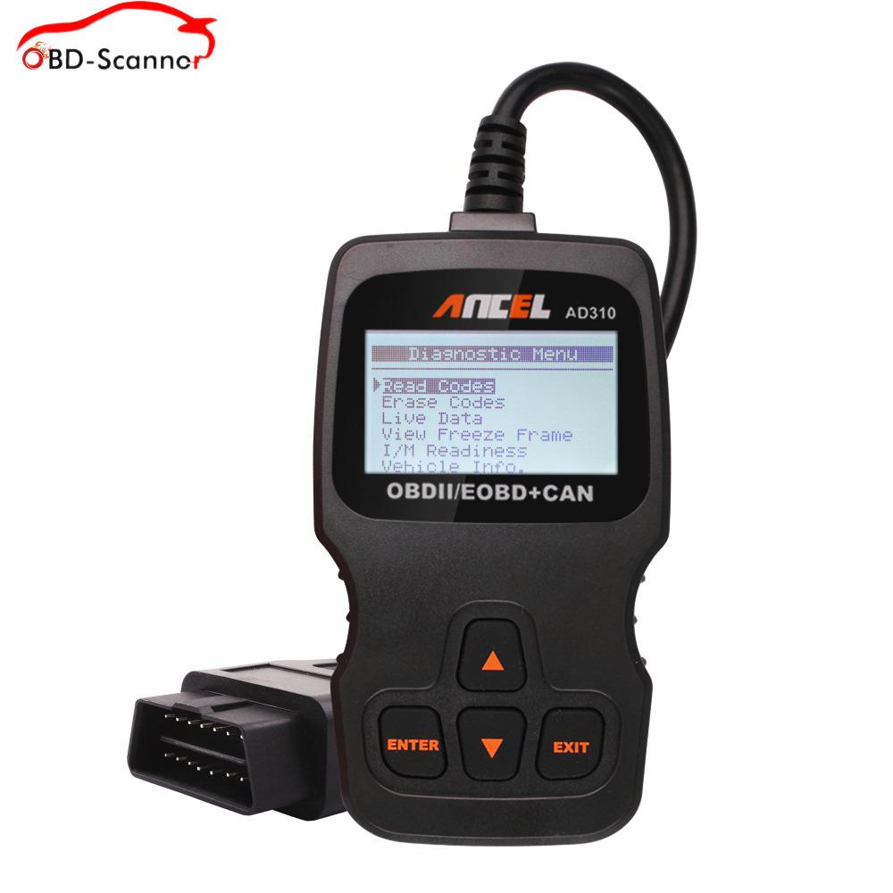 mais vendidos ferramentas automotivas ANCEL AD310 teste automotivo ferramentas para carro ferramentas carro automotive scanner(China (Mainland))