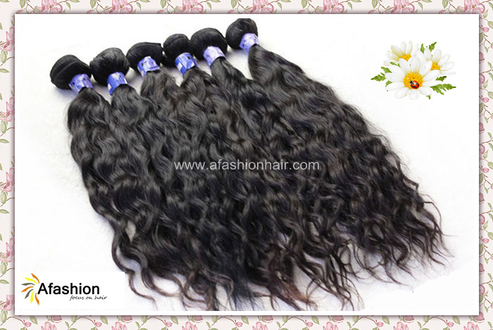 Mix length 3pcs lot virgin brazilian weave water wave natural hair extension weft 14 16 18 20 22 24 26 inch ship by DHL(China (Mainland))