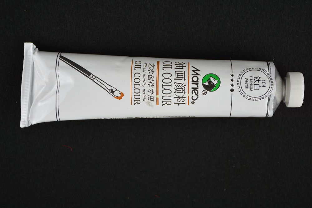 Marie's 104# 170ml Titanium oil paints Finest quality for artist(China (Mainland))