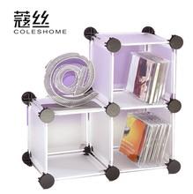 Wire diy resin magicaf tablets 3 cd rack modern brief shelf combination