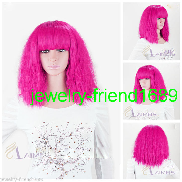 Wholesale heat resistant LY free shipping New font b wig b font Cos LADY GAGA Short