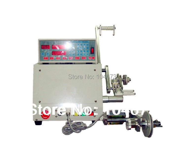 Brand New Computer CNC Automatic Coil Winder Winding Machine for 0.03-1.2mm wire Free shipping(China (Mainland))