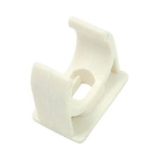 2016 Wholesale 10 Pcs 20mm Diameter White PVC Water Supply Pipe Clamps Clips Fittings(China (Mainland))