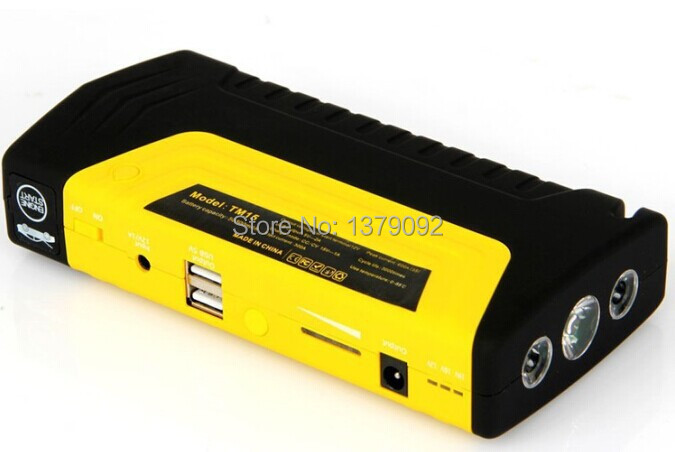 16800mAh Multi-function Jump Starter High Capacity Laptop Mobile 12V Car Charging Battery Jump Starter(China (Mainland))