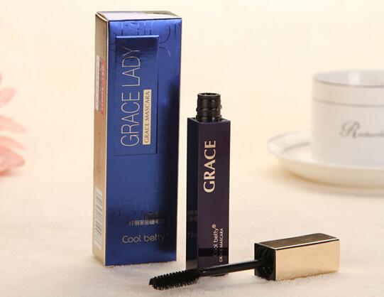 Eyelash to cream wholesale qiao beauty Superstar fine feather to close eyelash to cream thick waterproof makeup(China (Mainland))
