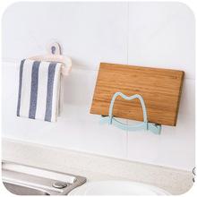 Free Shipping Multifunctional Suction Pot Rack Block Frame Kitchen Storage Multi-purpose Towel Rack Removable Shelf(China (Mainland))