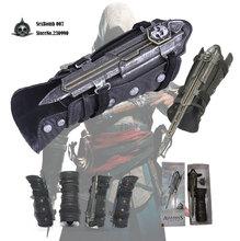 New Free Shipping Assassins Creed 4: Edward James Kenway Gauntlet Cosplay Replica 1:1(China (Mainland))